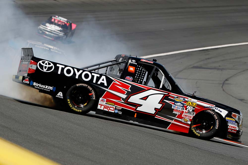 No 4 Toyota Racing Team Overcomes Adversity To Finish Eighth