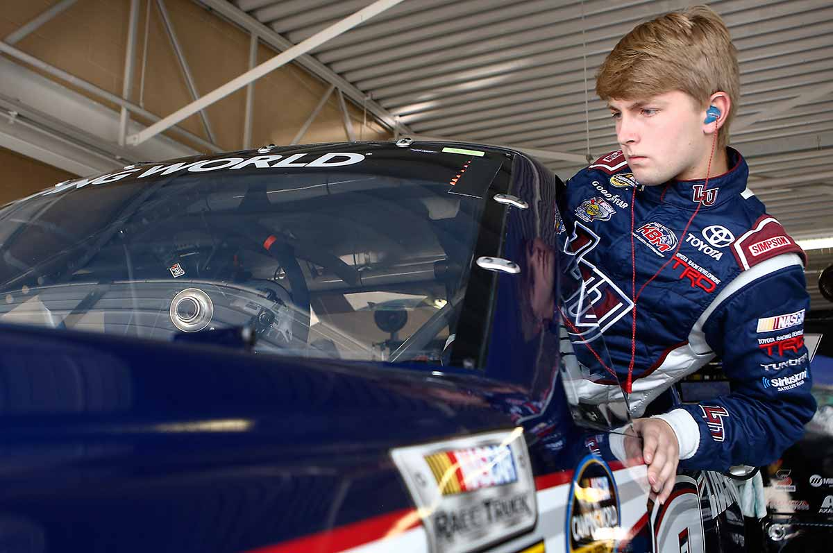 William Byron Dover Preview on Toyota Tundra