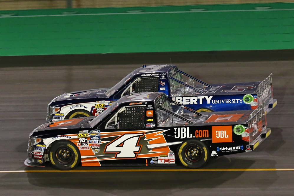 Bell and JBL Racing Team Finish Fourth at Kentucky