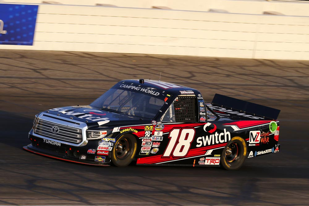 Victory Lane is No Mirage for Gragson at Phoenix