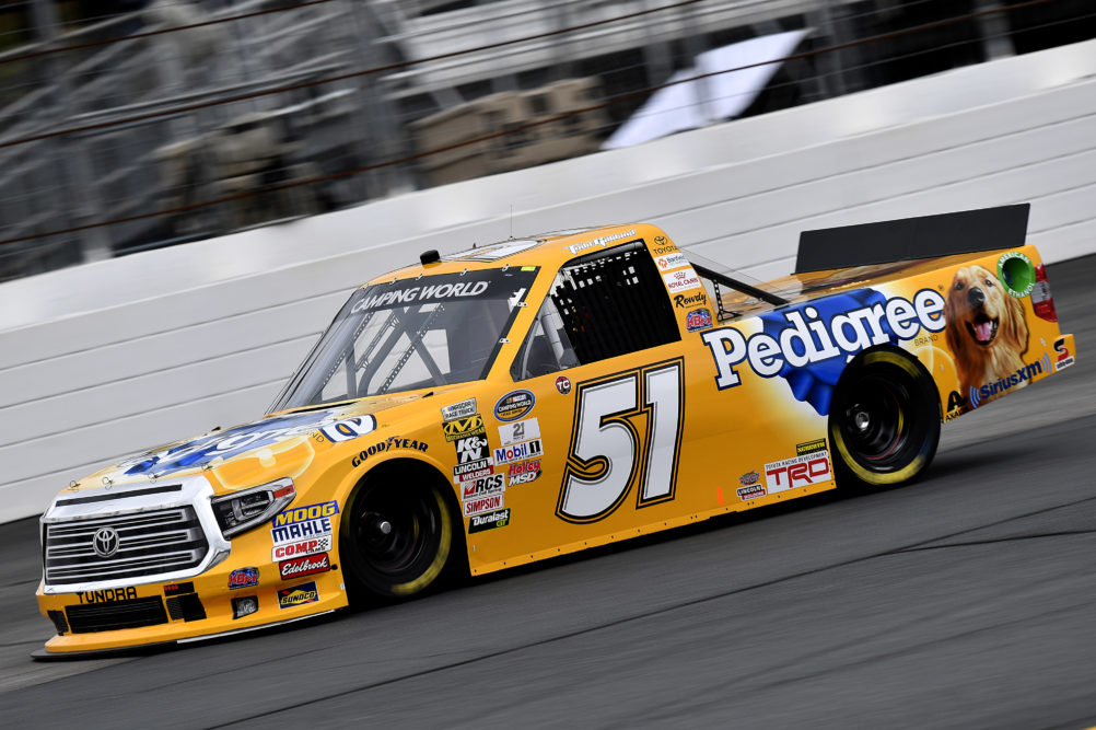 Todd Gilliland No 51 Pedigree Tundra Ncwts Phoenix Advance