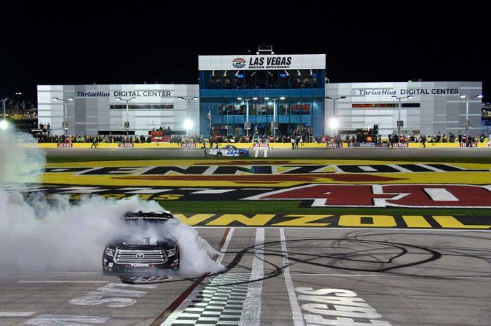 7d12e79f2e6 Kyle Busch Earns NASCAR Trucks Win No. 53 in Dominating Fashion