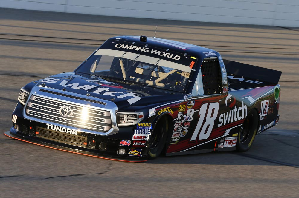 Gragson Wins Pole and Finishes Sixth at Iowa