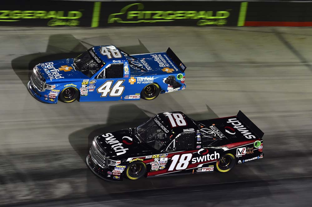 Kyle Busch Motorsports >> Pit Road Penalty Hurts Gragson S Top Five Run